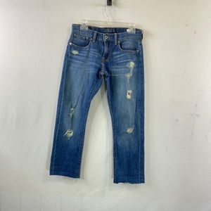 Lucky Sienna Tomboy Straight Fit Destroy Jeans